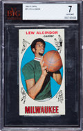 Basketball Cards:Singles (Pre-1970), 1969 Topps Lew Alcindor #25 BVG NM 7. ...