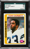 Football Cards:Singles (1970-Now), 1978 Topps Tony Dorsett #315 SGC 98 Gem MT 10 - The Ultimate SGCExample, Pop One!...