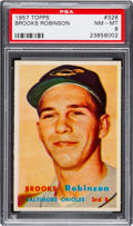 Baseball Cards:Singles (1950-1959), 1957 Topps Brooks Robinson #328 PSA NM-MT 8....