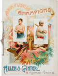 """Baseball Cards:Other, 1888 A16 (N28) Allen & Ginter """"Album of Worlds Champions."""" ..."""