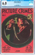Platinum Age (1897-1937):Miscellaneous, Picture Crimes #1 (David McKay Publications, 1937) CGC FN 6.0Off-white pages....
