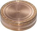 Silver Smalls:Snuff Boxes, A Darier & Galopin Swiss Vari-Color Gold Snuff Box, Geneva,Switzerland, circa 1800-1810. Marks: DG (crowned), (Frenchw...