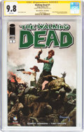Modern Age (1980-Present):Horror, The Walking Dead #1 Wizard World St. Louis Edition - SignatureSeries (Image, 2013) CGC NM/MT 9.8 White pages....