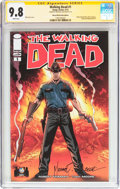 Modern Age (1980-Present):Horror, The Walking Dead #1 Wizard World Ohio Edition - Signature Series(Image, 2013) CGC NM/MT 9.8 White pages....