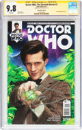 Modern Age (1980-Present):Science Fiction, Doctor Who: The Eleventh Doctor #2 Subscription Edition - SignatureSeries (Titan Comics, 2014) CGC NM/MT 9.8 White pages....