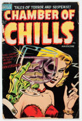 Golden Age (1938-1955):Horror, Chamber of Chills #19 (Harvey, 1953) Condition: FR/GD....