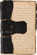 Miscellaneous, Civil War Diary of Union Soldier in New York Rocket Battalion....