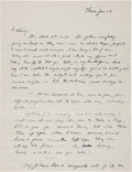 Autographs:U.S. Presidents, Dwight D. Eisenhower Autograph Letter (Unsigned)... (Total: 2Items)
