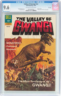 Silver Age (1956-1969):Horror, Movie Classics: Valley of Gwangi - File Copy (Dell, 1969) CGC NM+9.6 Off-white to white pages....