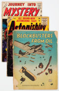 Golden Age (1938-1955):Miscellaneous, Low Grade Golden to Silver Age Short Box Group (Various Publishers, 1950s-60s)...