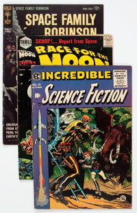 Comic Books - Assorted Golden and Silver Age Science Fiction Comics Group of 30 (Various Publishers, 1950s-60s) Conditio...