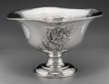Silver Holloware, American:Bowls, A Large Weighted Silver Tournament of Roses Trophy Bowl Presentedto the City of Glendale, circa 1929. Marks: STERLING, LO...
