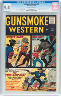 Silver Age (1956-1969):Western, Gunsmoke Western #57 (Atlas/Marvel, 1960) CGC NM 9.4 Off-white towhite pages....