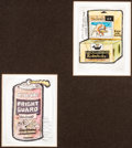 Original Comic Art:Miscellaneous, Wacky Packages 3rd Series Preliminary Artwork Group of 2(Topps, 1973)....