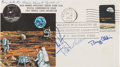 Explorers:Space Exploration, Apollo 11 Flown Crew-Signed Quarantine Cover, C-2, Originally from the Personal Collection of Mission Command Module Pilot Mic...