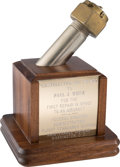 """Explorers:Space Exploration, Skylab I (SL-2) FAA """"Castellated Nut"""" Presentation Award to Crew for First Repair in Space Directly from the Personal Collecti..."""