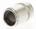 Photographs, Zeiss Sonnar 135mm f/4 Telephoto Lens for Contarex. German, c. 1962, No. 3644359, chrome finish. . ...