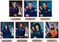 Autographs:Celebrities, Space Shuttle Columbia (STS-107) Crew: Individually-SignedColor Photos of All Seven Inscribed to the Orbital Proc...
