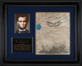 Autographs:U.S. Presidents, Abraham Lincoln Signed Military Appointment. ...