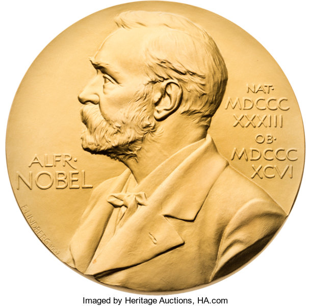 Miscellaneous Georg Wittig Nobel Prize Medal In Chemistry Received 1979Together With Four