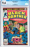 Bronze Age (1970-1979):Superhero, Black Panther #1 (Marvel, 1977) CGC NM+ 9.6 Off-white to whitepages....