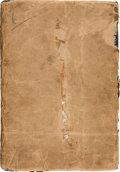 Miscellaneous, American Revolution: Order Book for Various Officers of the RoyalNavy in the Caribbean, 1778-1780....