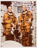 "Autographs:Celebrities, Space Shuttle Columbia (STS-3) Crew-Signed NASA Color PhotoOriginally from the Collection of Walter ""Kappy"" Kapry..."