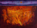 Fine Art - Painting, American:Contemporary   (1950 to present)  , Michael Frary (American, 1918-2005). Canyon. Oil on panel.24 x 32 inches (61.0 x 81.3 cm). Signed lower right:Frary...