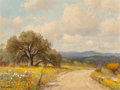 Fine Art - Painting, American:Contemporary   (1950 to present)  , Porfirio Salinas (American, 1910-1973). Spring Flowers. Oilon canvas. 12 x 16 inches (30.5 x 40.6 cm). Signed lower lef...