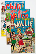 Silver Age (1956-1969):Romance, Millie the Model/Chili Group of 7 (Marvel, 1967-70) Condition: Average VF.... (Total: 7 Comic Books)