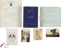 Autographs:Celebrities, Charles A. Lindbergh Signed Copy of We...