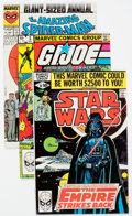 Modern Age (1980-Present):Miscellaneous, Marvel Modern Age Comics Group of 58 (Marvel, 1980s-90s) Condition: Average VF+.... (Total: 58 Comic Books)