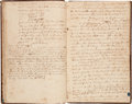 Miscellaneous, [Revolutionary War]. Louisa Susannah Wells' Journal of a Voyagefrom Charleston, South Carolina, to London, 1778.... (Total: 2Items)