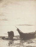 Photographs, Edward Sheriff Curtis (American, 1868-1952). The Clam Digger, 1900. Platinum. 15-3/4 x 12-1/4 inches (39.9 x 31.1 cm). S...