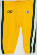 Football Collectibles:Uniforms, 2009 Green Bay Packers Game Worn Pants. ...