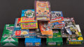 Baseball Cards:Unopened Packs/Display Boxes, 1989-97 Multi-Sport Unopened Box Collection (10)....
