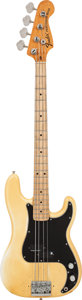 Musical Instruments:Bass Guitars, 1975 Fender Precision Bass Olympic White Electric Bass Guitar, Serial # 633596, Weight: 10.2 lbs....