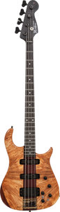 Musical Instruments:Bass Guitars, Early 1980's Modulus/Alembic BassStar Natural Electric Bass Guitar,Weight: 9.4 lbs....