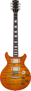 Musical Instruments:Electric Guitars, 1976 Mark Erlewine/Gibson Double Fantasy Sunburst Solid BodyElectric Guitar, Weight: 9.6 lbs....