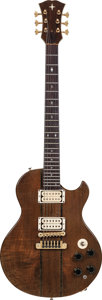 Musical Instruments:Electric Guitars, 1978 Mark Erlewine Custom Black Walnut Natural Solid Body ElectricGuitar, Weight: 8.4 lbs....