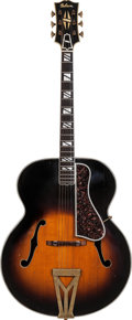 Musical Instruments:Acoustic Guitars, 1938 Gibson Super 400 Sunburst Archtop Acoustic Guitar, Serial #95686....