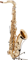 Musical Instruments:Horns & Wind Instruments, 2000's Yamaha Custom YTS-875EX Brass Tenor Saxophone, Serial # C07266....