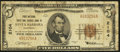 National Bank Notes:California, Santa Barbara, CA - $5 1929 Ty. 1 The First National Trust & Savings Bank Ch. # 2104. ...