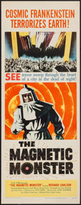 "Movie Posters:Science Fiction, The Magnetic Monster (United Artists, 1953). Insert (14"" X 36"").Science Fiction.. ..."