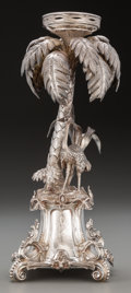 Silver Holloware, Continental:Holloware, A Continental Silver Figural Centerpiece, circa 1882-1898. Marks:875.M, (84-logotype-ПT). 14 inches high (35.6 cm). 26....