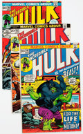 Bronze Age (1970-1979):Superhero, The Incredible Hulk Group of 47 (Marvel, 1973-77) Condition: Average FN/VF.... (Total: 47 Comic Books)