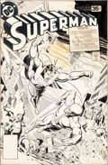 Original Comic Art:Covers, Jose Luis Garcia-Lopez Superman #322 Cover Original Art (DC,1978)....