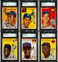 Baseball Cards:Sets, 1954 Topps Baseball Complete Set (250). ...