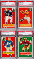 Football Cards:Sets, 1956 Topps Football Complete Set (120) Plus Checklist. ...
