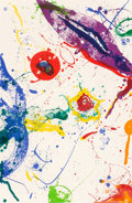Prints:Contemporary, Sam Francis (1923-1994). Untitled (SF-330; L-L279), 1988.Lithograph in colors on wove paper. 44-1/2 x 29-1/4 inches (11...
